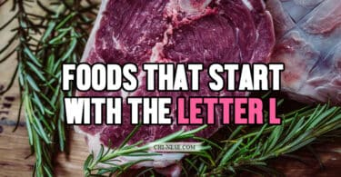 foods that start with the letter l