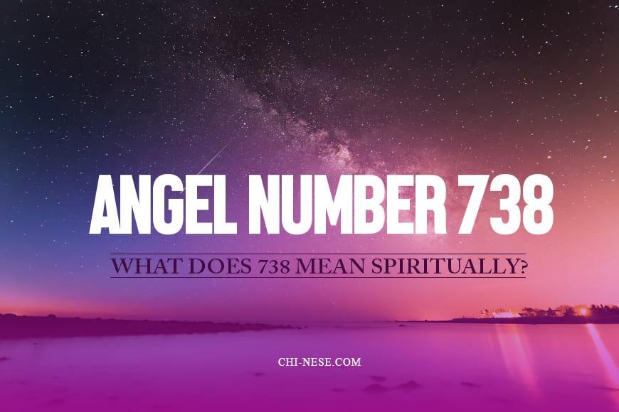 738 angel number