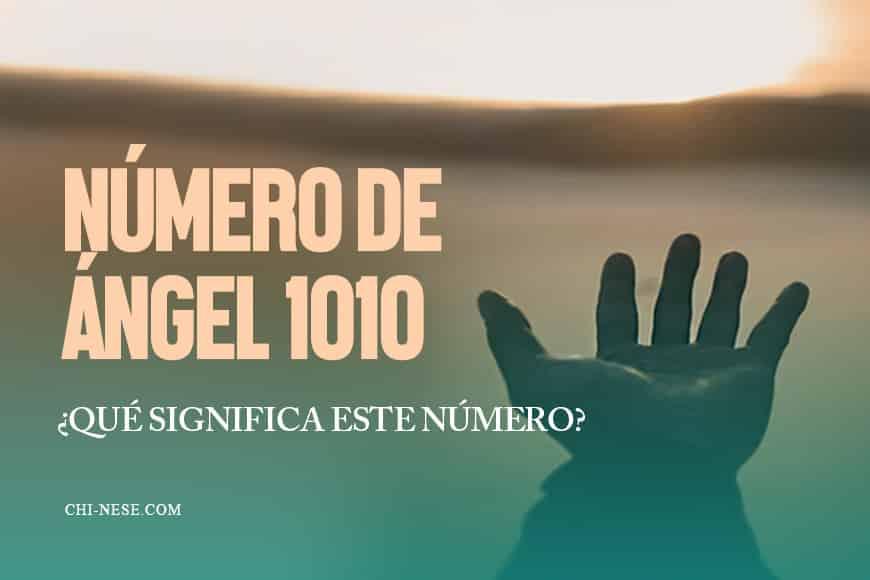 numero de angel 1010 significado