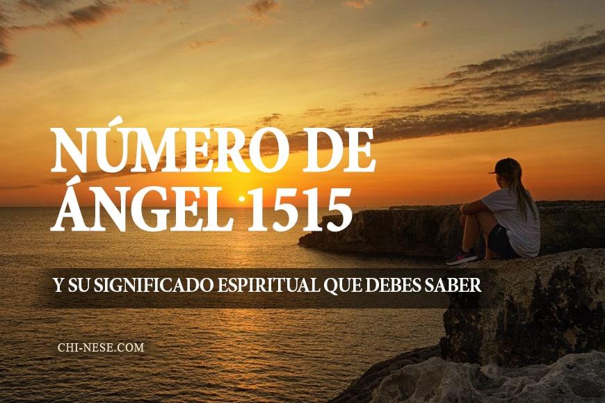 numero de angel 1515 significado