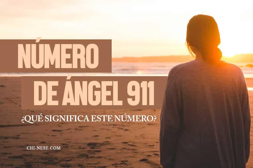numero de angel 911