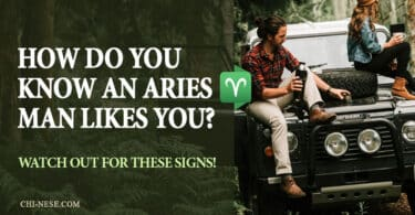 signs an aries man likes you